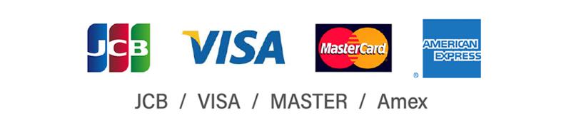 クレジットカード各会社ロゴ